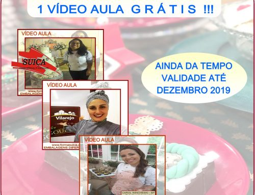 VÍDEO AULA DE CHOCOLATE !